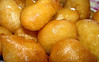 Loukoumades close-up by Plakidas