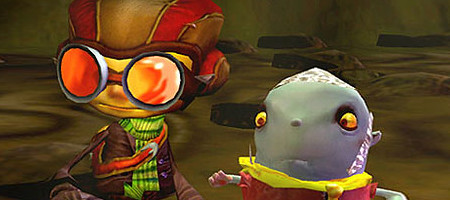 Psychonauts. A brilliant game that I have finished.