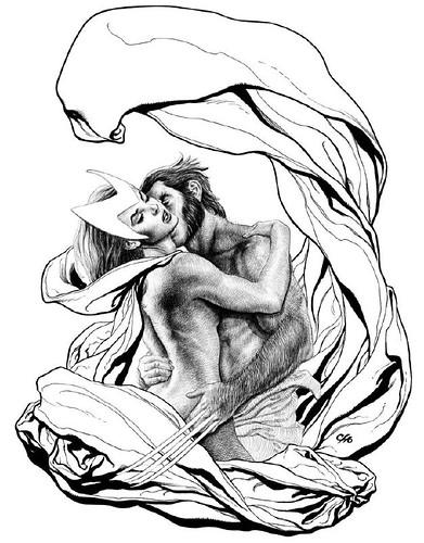 wolverine y la bruja escarlata (2) por ti.