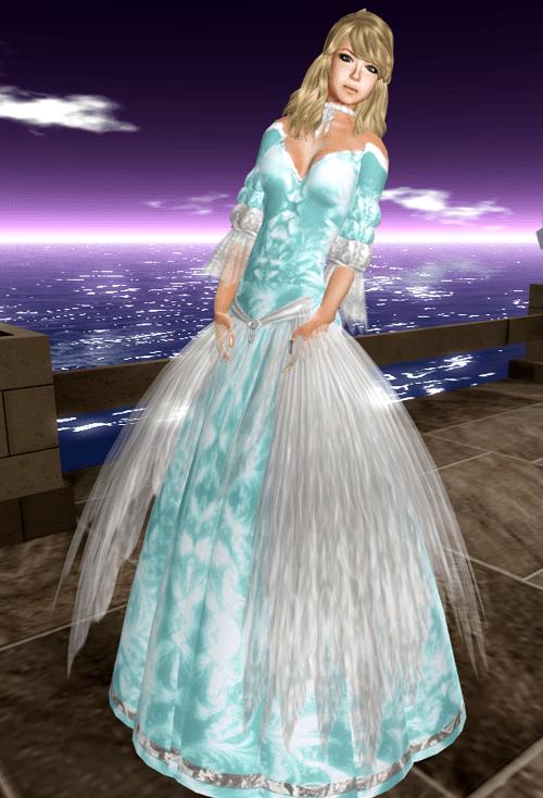 [K~*~S] Ryel - Gown - Aqua