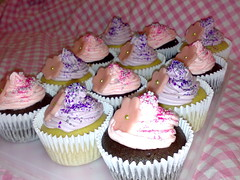 Cupcake order for 3yo's fairy birthday party