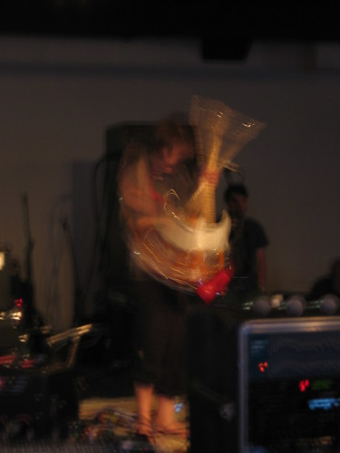 Blur that guitar!