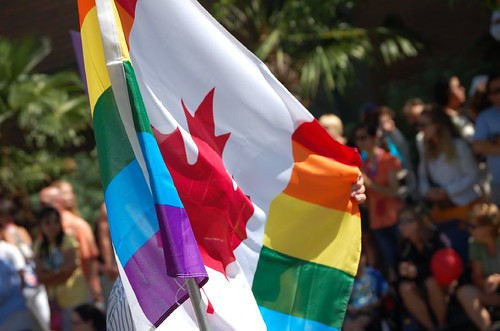 Canadian Gay Rights Flag.