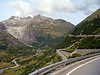Furka Pass in distance