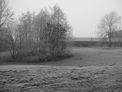 area where i walk jess, in black and white