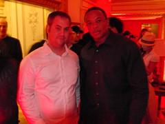 Dr. Dre and Jake Ludington