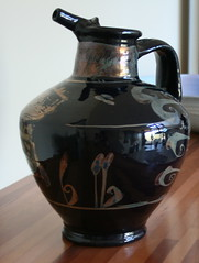 Alan Peascod. Reduced lustre jug 1983