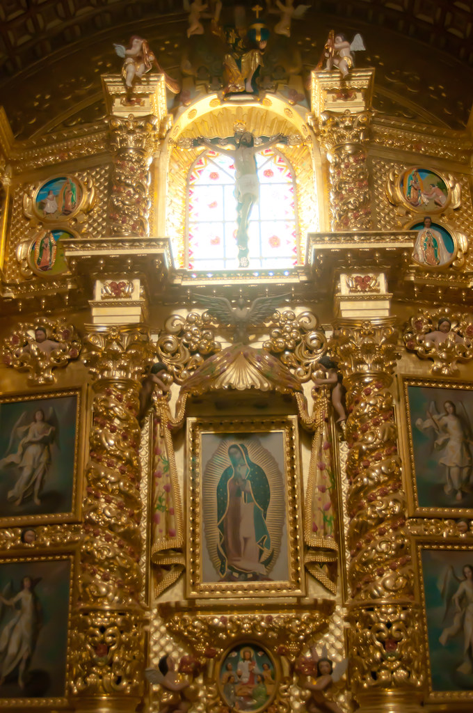 Santo Domingo Cathedral, Oaxaca, Mexico