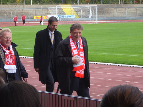 Fritz Schramma zu Gast im Südstadion