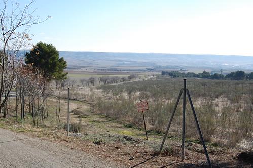 Zona militar junto al cerro del viso