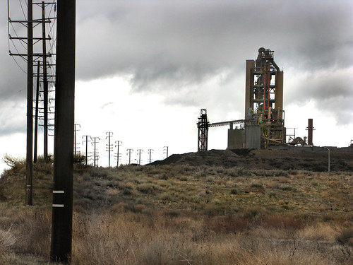 The Portland Cement Factory at Monolith, CA