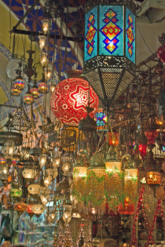 Lanterns, Kapalıçarşı, Grand bazaar, İstanbul, Pentax K10d