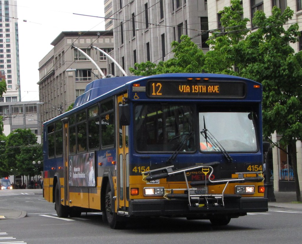 hight resolution of king county metro 2001 gillig phantom trolley 4154 zargoman tags seattle travel bus