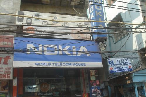 Old Delhi1-1電線交織