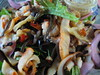 Uni Chilled Smoked Calamari Salad