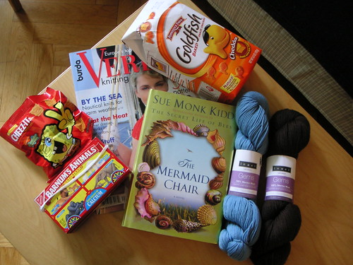 ravelry book club swap
