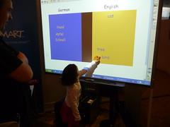 Smartboard, kids stuff really! by TonZ, on Flickr