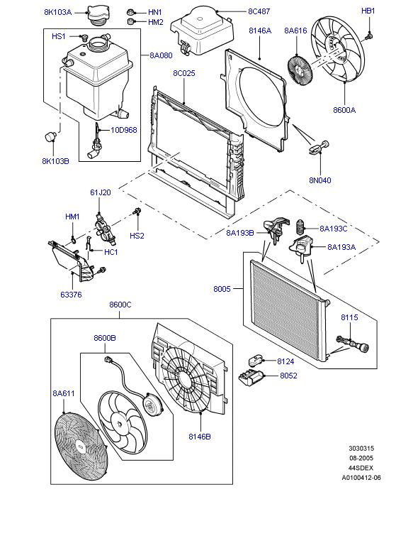 Land Rover Discovery Radio Wiring Diagram 1996