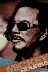 Mickey Rourke Grunge Poster Concept