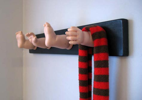 Image result for coat rack baby hands and feet