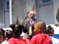 Larry Langford with children