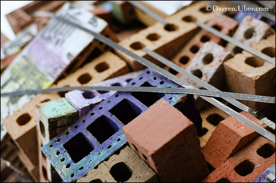 Brick Art ©Darren Abate. Zeiss C Sonnar T* 50/1.5 ZM
