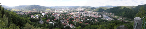 Panorama of Decin