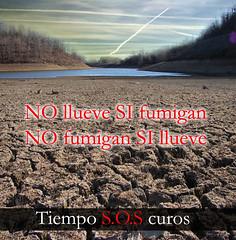 La sequía en España por TiempoSOScuros