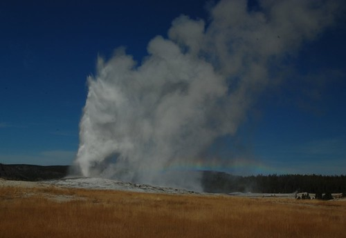 Yellowstone National Park Geothermal Feature