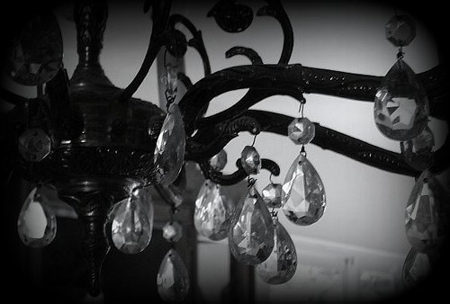 winter chandelier