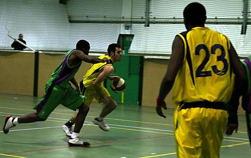 Men's Basketball vs. Leeds Met Carnegie, 3.12.08, Alexandru Hristea (5)