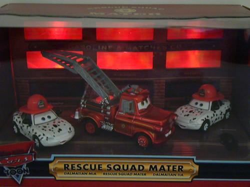 Disney CARS SDCC Rescue Squad Mater,Mia n Tia (4)