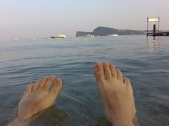 Bagno nel Lago di Garda