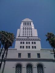 Downtown LA city hall