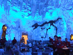 Ice Cave at T-Rex Cafe