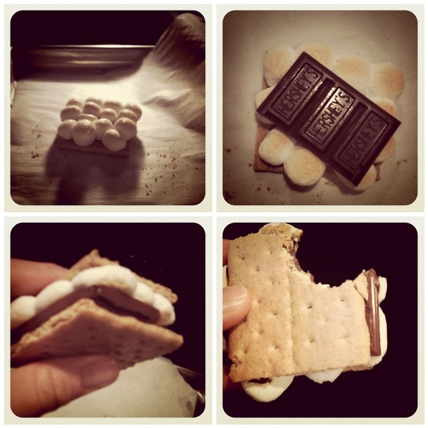 Oven Roasted Smores