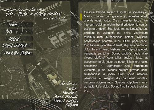 web layout 2 5x7 image