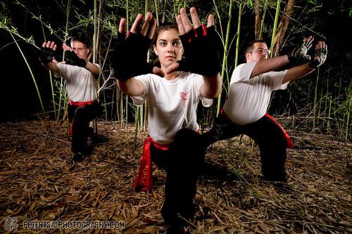 Texas Dragon Dance Team Salute