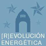 Logo emitido por Greenpeace de la Gira [R]evolución Energética.