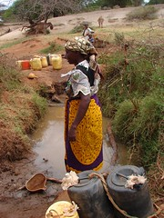 A woman at the well