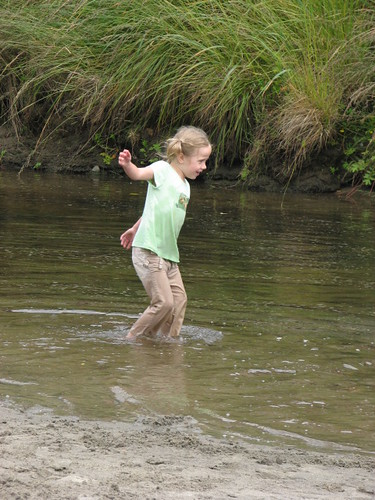 Emily at creek 2