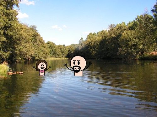En el Río Águeda
