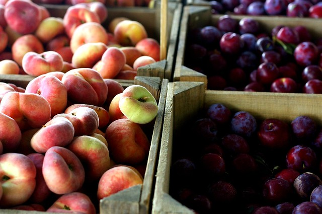 donut peaches and plums
