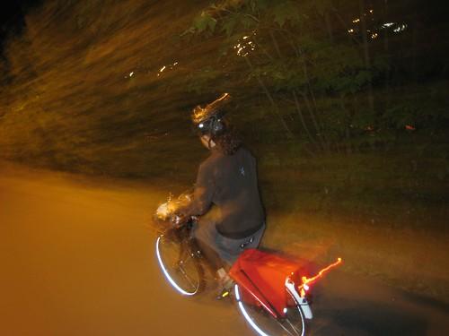 night ride on the oma