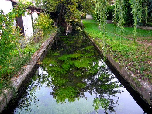 The Canal des Moulins in Valence