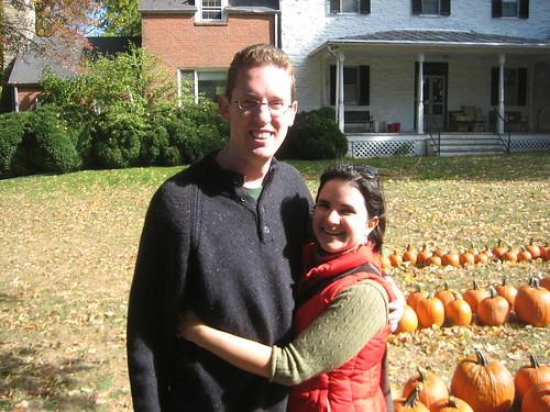 I pick a winner (but not a pumpkin)