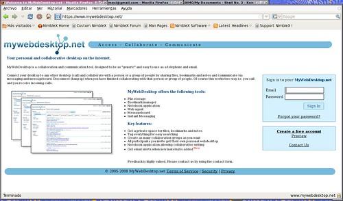 un webtop práctico