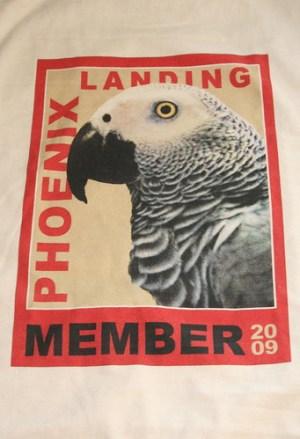 Phoenix Landing T-shirt (member logo)