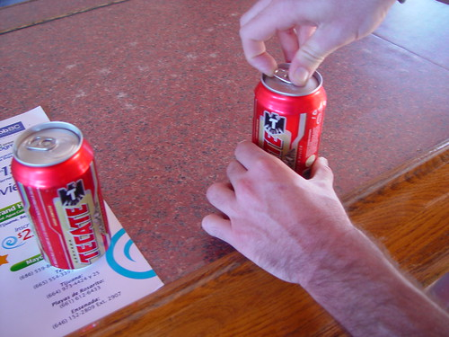 Everyone who visits the Tecate brewery gets one free beer.