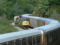 Car carrier trains/rail cars